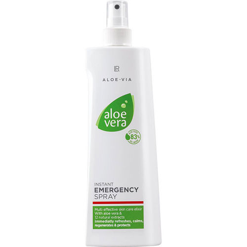 1a LR ALOE VERA EMERGENCY --- Notfall Spray 83% Aloe Vera --- 400 ml --- Pumpspray-Flasche 20600