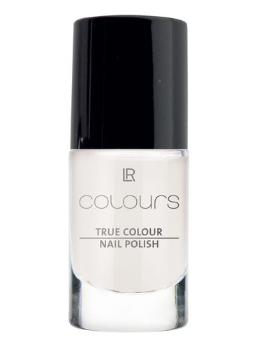 1a LR COLOURS --- True Colour Nail Polish --- Marshmallow White --- 10400-1