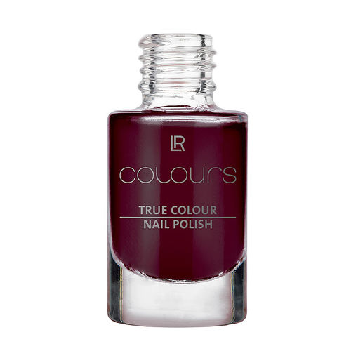 1a LR COLOURS --- True Colour Nail Polish --- Black Cherry --- 10400-11