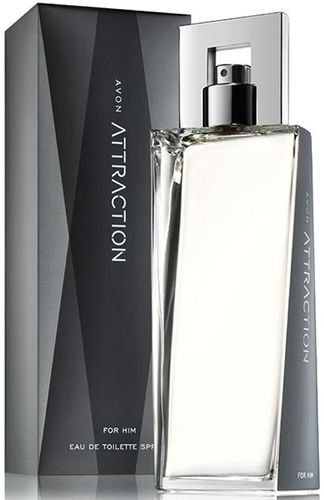 1a AVON Eau de Toilette Spray --- ATTRACTION für IHN --- EdT 75 ml