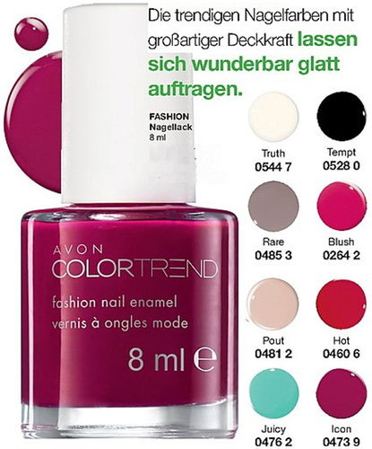 1a AVON Nagellack --- Color Trend --- Icon --- 8 ml