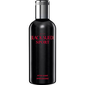 1a AVON Aftershave --- Black Suede Sport --- 100 ml