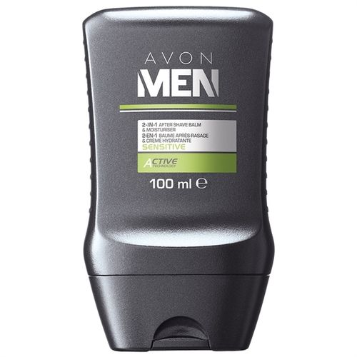 1a AVON Aftershave-Balsam --- Avon Men Sensitive --- 100 ml