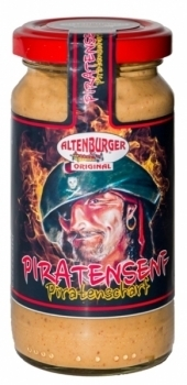 Altenburger Senf --- Piratensenf --- 200 ml Glas 26250