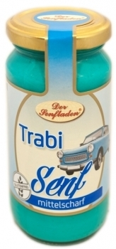 Altenburger Senf --- Trabi Senf --- 200 ml Glas 26975