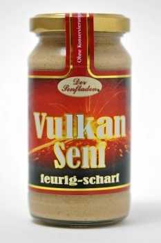 Altenburger Senf --- Vulkansenf --- 200 ml Glas 26603