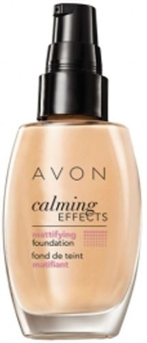 1a AVON Foundation --- Calming Effects mattierend --- Almond --- 30 ml